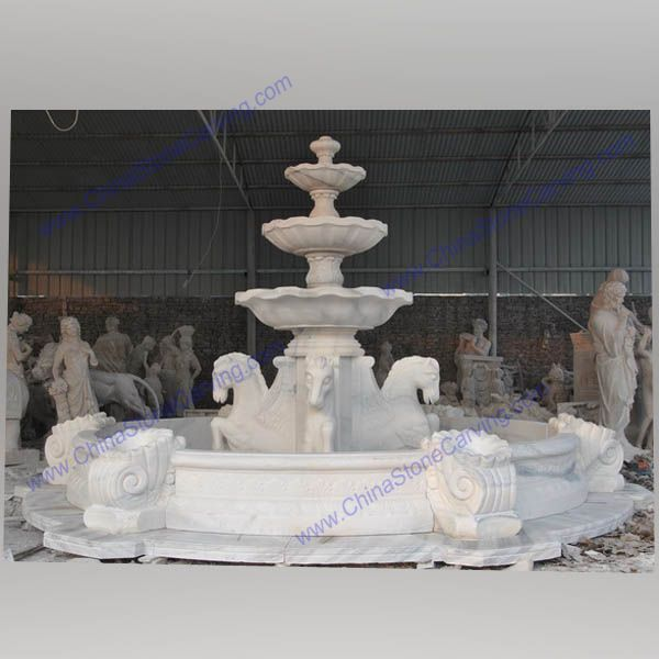horse stone fountain,   horse stone fountain,   outdoor stone fountain with horse,   outdoor stone fountain with horse,   horse stone fountain