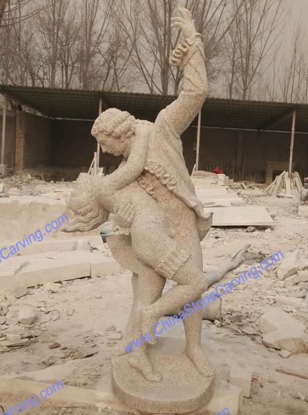 granite sculpture